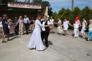 Biesiada weselna w DPS w Rogowie